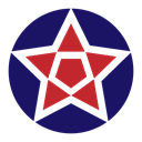star, shape, Basic, geometric, Abstract MidnightBlue icon