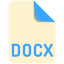 Extension, name, Docx, File BlanchedAlmond icon
