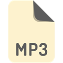File, mp3, Extension, name BlanchedAlmond icon