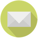 new, mail, Design DarkKhaki icon