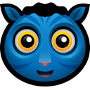 Mascot, Animals, sulley, jake, Animal, horse, Alien Black icon