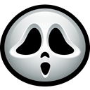 Ghost, slasher, scream, Ghostface, holloween, Mask, halloween Black icon