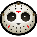 Hockey, Clown, spooky, Mask, halloween, jason, vorhees Black icon