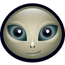 space, Paul, martian, science, Et, Alien, Outer Space Black icon