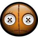 Mask, halloween, horror, sam, trick, spooky, treat SaddleBrown icon
