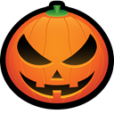 squash, spooky, scary, jack, halloween, pumpkin, jackolantern Chocolate icon