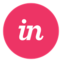 Invision IndianRed icon