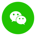 Messenger, Social, Wechat LimeGreen icon