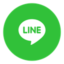 line, Messenger, Social LimeGreen icon