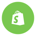 Social, shopify YellowGreen icon