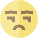 emoticons, Suspect, Emoji, feelings, Smileys Khaki icon