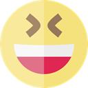 emoticons, Emoji, feelings, Smileys, happy Khaki icon
