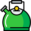 tea, food, kettle, hot drink, kitchenware, Coffee Pot, Food And Restaurant Icon