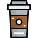 Take Away, Paper Cup, Food And Restaurant, Coffee, cup, food, coffee cup, hot drink, Coffee Shop Black icon