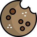 food, cookie, Dessert, cookies, sweet, Bakery, Food And Restaurant Gray icon