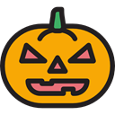 food, fall, Fruit, halloween, pumpkin, horror, Terror, decoration, spooky, scary, autumn Orange icon