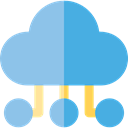 Cloud, weather, Cloudy, sky, Cloud computing, Seo And Web SkyBlue icon