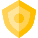 secure, security, Antivirus, shield, defense SandyBrown icon