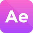 Extension, adobe, format icon, after effects MediumOrchid icon