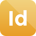Format, Extension, adobe, indesign icon Goldenrod icon