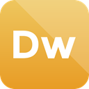 dreamweaver, Extension, adobe, format icon Goldenrod icon