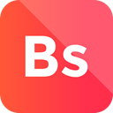 bs icon, Format, Bs, Extension, File, Pl Tomato icon