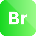 Extension, adobe, bridge, format icon LimeGreen icon