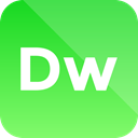 dreamweaver, Extension, adobe, format icon LimeGreen icon