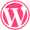 wordpress icon DeepPink icon