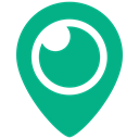 Periscope icon DarkCyan icon