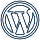 wordpress icon DarkSlateGray icon