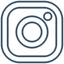 media, network, new, Logo, Social, Instagram, square icon DarkSlateGray icon