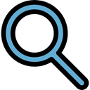 search, magnifying glass, zoom, Seo And Web, detective, ui, Loupe, Tools And Utensils Black icon