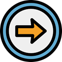directional, Multimedia Option, skip, interface, Direction, ui, Arrows, next WhiteSmoke icon