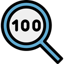search, magnifying glass, zoom, detective, ui, Loupe, Tools And Utensils Black icon