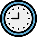 Clock, time, watch, tool, Tools And Utensils, Time And Date WhiteSmoke icon