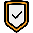 secure, security, Antivirus, shield, defense WhiteSmoke icon
