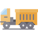 truck, transport, vehicle, Automobile, Delivery Truck, Cargo Truck, Construction And Tools, Delivery, transportation Black icon