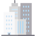 skyline, Cities, Architecture And City, Building, city, Construction, buildings, urban WhiteSmoke icon