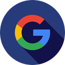 google, social media, social network, logotype, Logo, search engine, Logos DarkSlateBlue icon