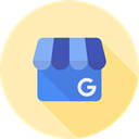 Business, google, social media Moccasin icon