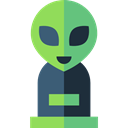 miscellaneous, Ufo, Avatar, Alien, space, galaxy, extraterrestrial Black icon