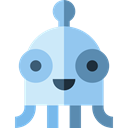 miscellaneous, Ufo, Avatar, Alien, space, galaxy, extraterrestrial SkyBlue icon
