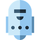 miscellaneous, robot, Avatar, electronics, Science Fiction, Futurist, technology SkyBlue icon