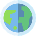 global, Geography, worldwide, Maps And Flags, Planet Earth, Earth Globe, Maps And Location Lavender icon