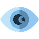 education, optical, Observation, vision, miscellaneous, Eye, Healthcare And Medical Black icon