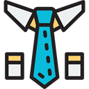 Business, Tie, clothing, Accessory, fashion, Elegant Icon