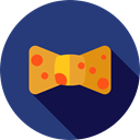 Clothes, clothing, entertainment, fashion, bow tie, Elegant DarkSlateBlue icon