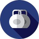 weight, sports, gym, dumbbell, weights, entertainment, Dumbbells, Tools And Utensils Icon