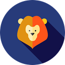 zoo, Animals, Circus, mammal, wildlife, Animal, lion DarkSlateBlue icon
